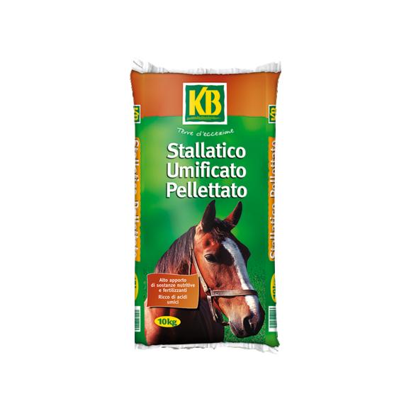 Orto e giardino - Stallatico_Umificato_Pellettato_10KG