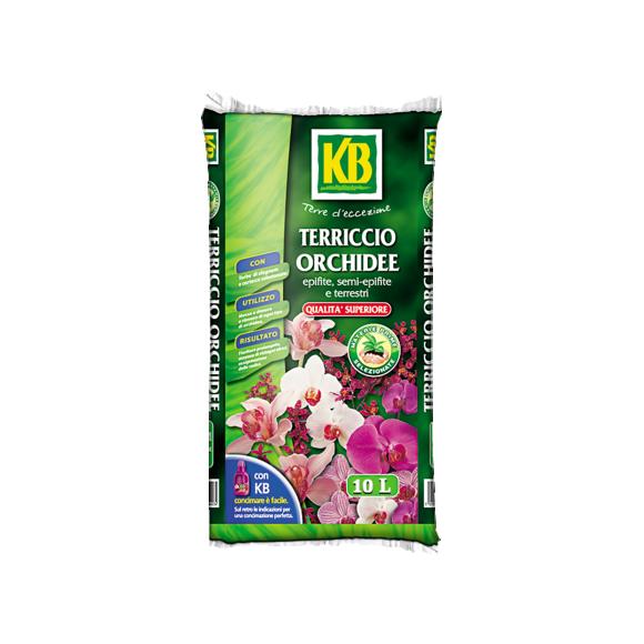 Rinvaso e piante verdi - Terriccio_Orchidee_10L