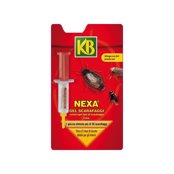 Nexa gel scarafaggi 5 gr insetti volanti e striscianti for Formiche volanti in casa