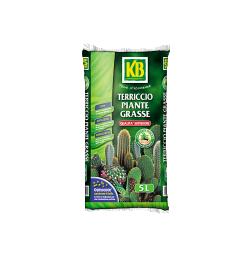 Rinvaso e piante verdi - Terriccio_Piante_Grasse_5L