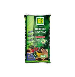 Rinvaso e piante verdi - Terriccio_Rinvaso_80L